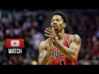 Derrick Rose Full Game 3 Highlights at Bucks 2015 Playoffs R1 - 34 Pts, 8 Ast, BEAST MODE!