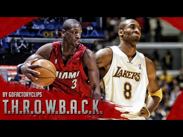 Throwback: Young Dwyane Wade vs Kobe Bryant Duel Highlights Lakers vs Heat (2004.12.25) - EPIC!