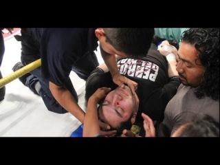 Muere El Hijo del Perro Aguayo en el Ring 21 Marzo 2015 vs Rey Mysterio Ultima Pelea Tijuana Video