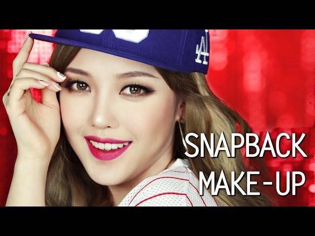 Snapback Makeup ♥(With subs) 스냅백 메이크업