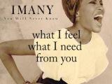 You will never know - IMANY (Lyrics)