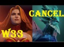 (w33)Lina vs Leshrac(CanceL) Mid War !!! Ranked GamePlay Dota 2