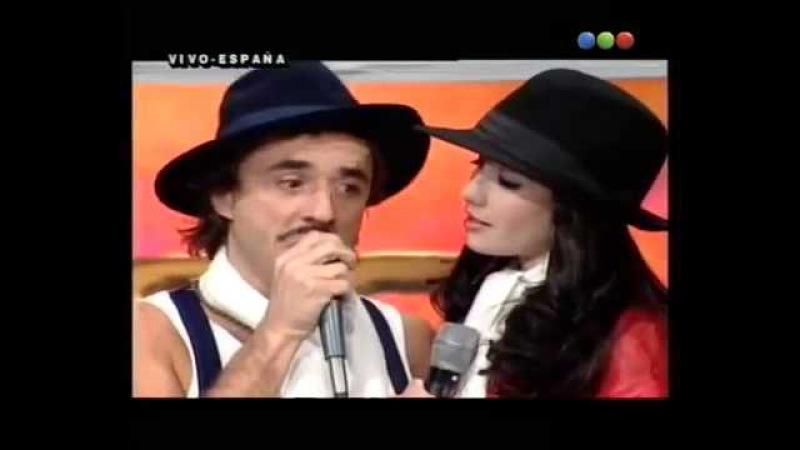 Natalia Oreiro . Videomatch. España 2000 . Los Tangueros con Natalia Oreiro