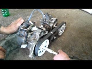 Лодочный мотор от скутера своими руками 71