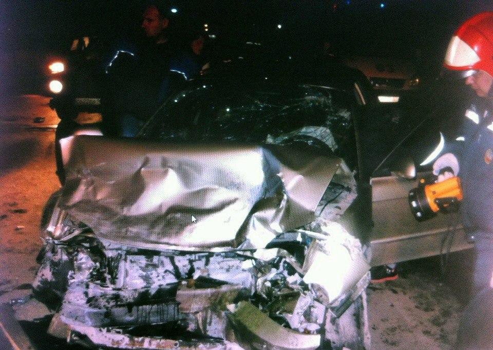 В Таганроге на Бакинском мосту произошла серьезная авария, пятеро пострадавших
