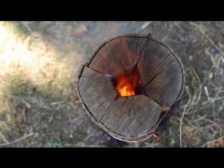 Походная печь своими руками ✔  как сделать финскую (шведскую) свечу