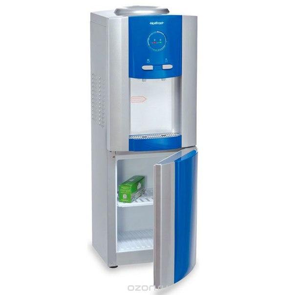 V730 ces, blue кулер для воды, HotFrost