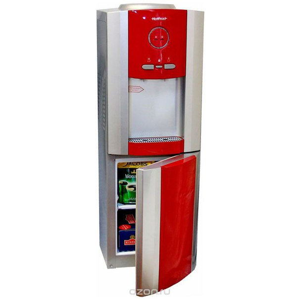 V730 ces, red кулер для воды, HotFrost
