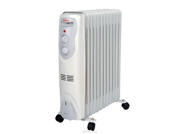 Ом-12н (2,5 квт) напольный радиатор, Ресанта