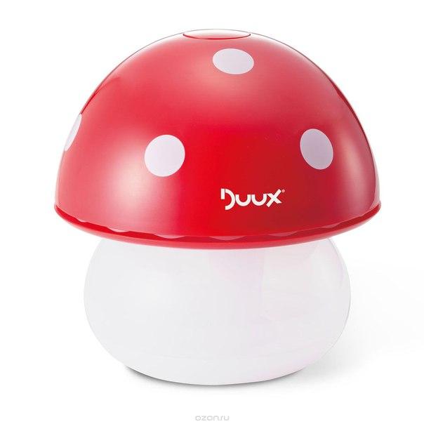 Ультразвуковой увлажнитель воздуха и ночник mushroom duah02, Duux