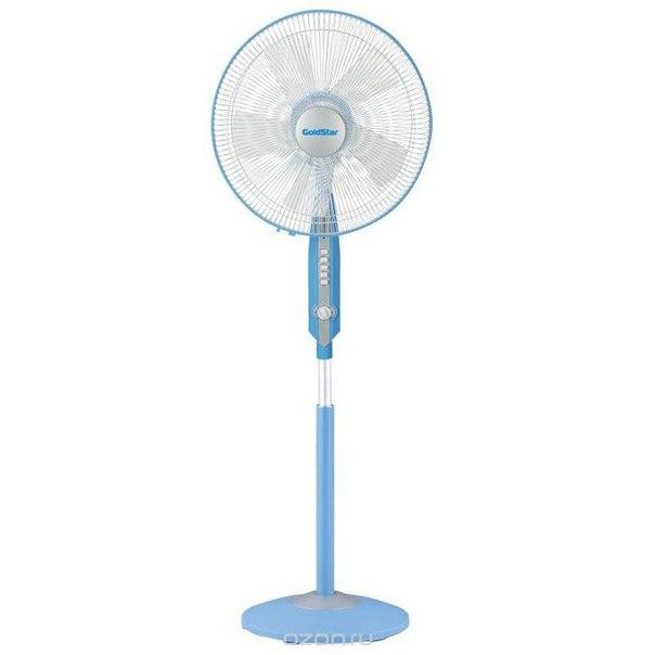 Sf-4055, blue напольный вентилятор, Goldstar