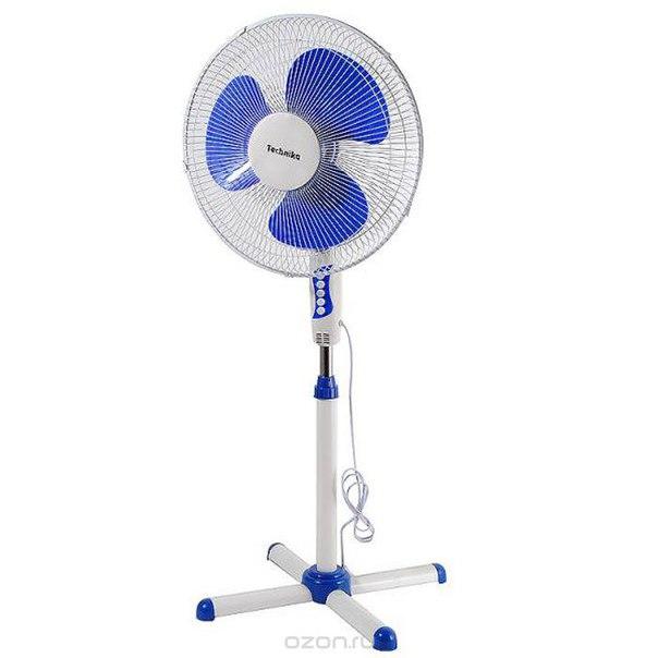 Тк-1601sf, blue вентилятор + вентилятор в подарок, Technika