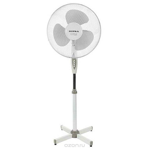 Mvf-1611, white grey напольный вентилятор, Supra