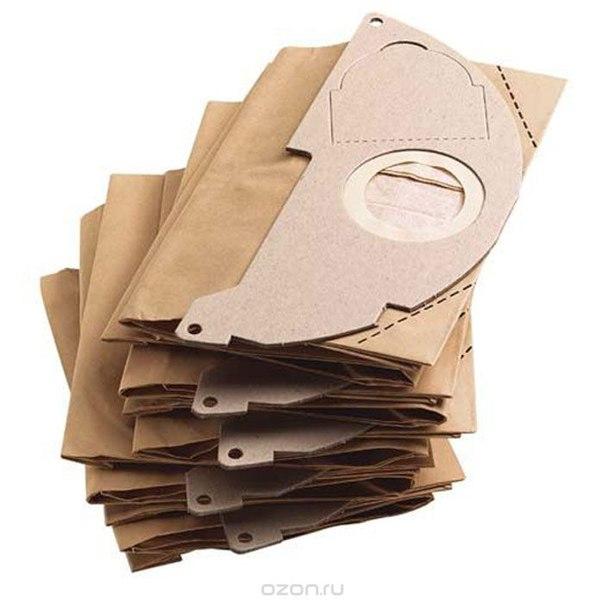 Бумажные фильтр-мешки 5 шт. 6.904-322.0, Karcher