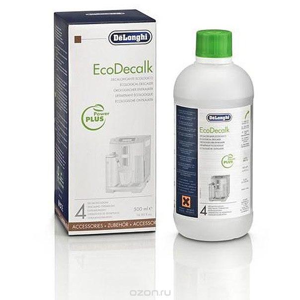 Delonghi set ecodecalk x500ml dl чистящее средство для кофемашин, De'Longhi