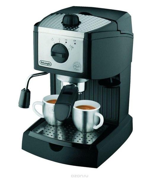 Delonghi ec 155 кофеварка, De'Longhi