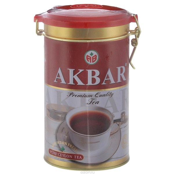Mountaun fresh черный листовой чай, 300 г, Akbar