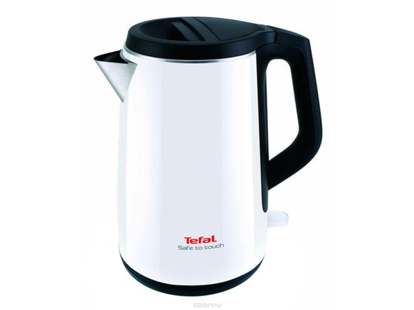 Ko3701 safe to touch, white электрический чайник, Tefal