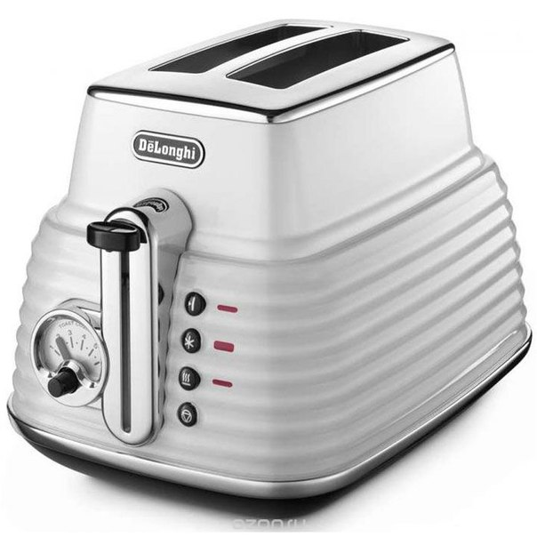 Delonghi ctz2103, white тостер, De'Longhi