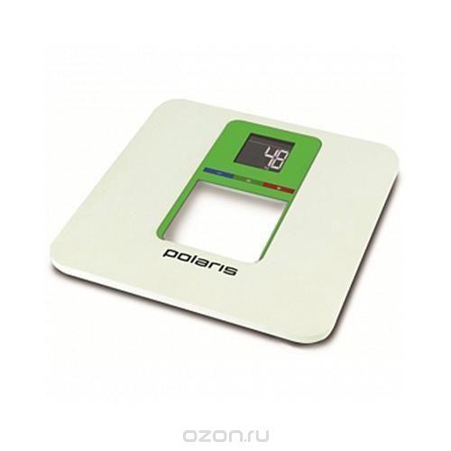 Pws 1833d smart colors, white green напольные весы, Polaris