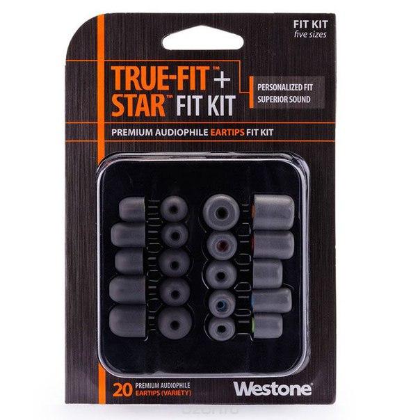 Fit kit true-fit + star сменные амбушуры, Westone