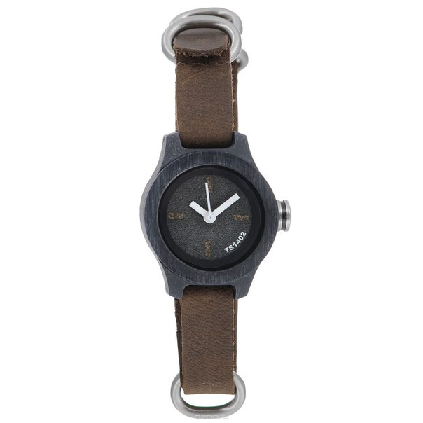 "Часы наручные женские ""nature s: gray/brown/white"". ts1402a, Tacs"