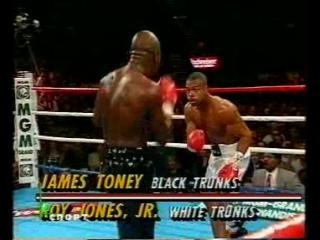Roy Jones vs James Toney_NTV+Sport