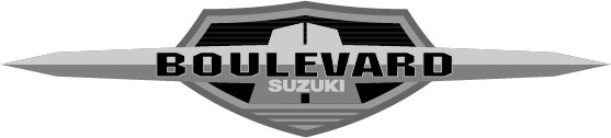 Эмблема Suzuki Desperado образца Suzuki Boulevard