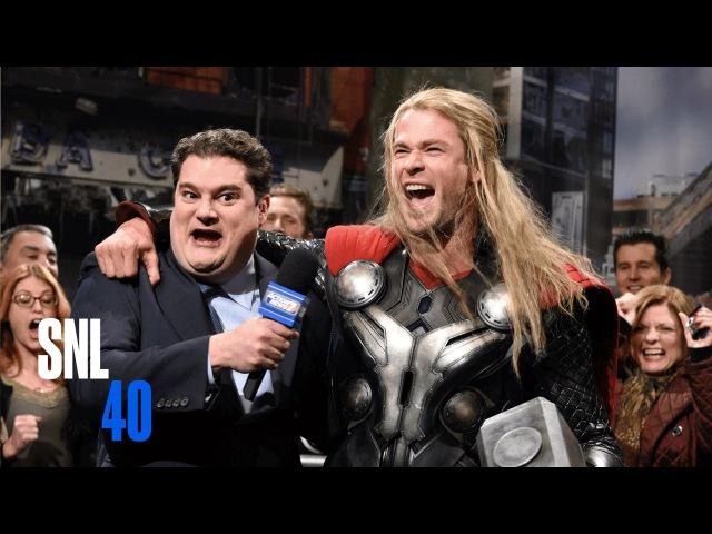 Avengers News Report - SNL