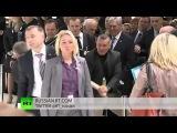 Открытии международной выставки как работает охрана Путина ПУТИН ИДИ на ХУЙ