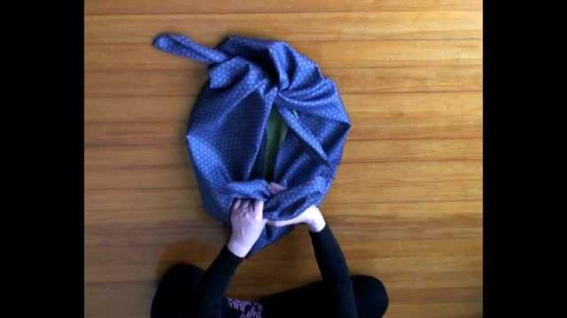 Furoshiki 1 Basic knot Wrapping