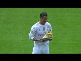 Криштиану Роналду представил «Золотую Бутсу» на «Сантьяго Бернабеу»