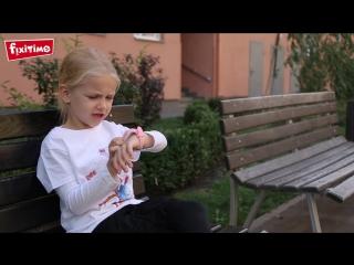 Детские часы-телефон Fixitime с трекером GPS
