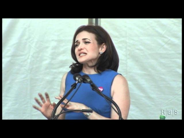 Sheryl Sandberg Addresses the Class of 2012