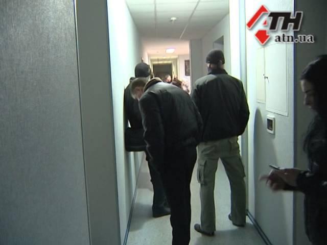 7 апреля 2014. Харьков. Захват АТН пророссийскими активистами. ВИДЕО