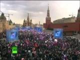 София Ротару - Крым. Мы будем вместе праздничный концерт 18 марта 2014 Красная площадь