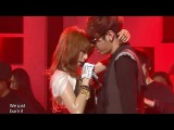HyunA - Change (feat. Yong Jun Hyeong), 현아 - 체인지 (feat. 용준형), Music core 20100130