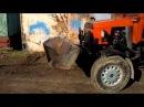 Самодельний ковш на трактор Т-25 тюнинг