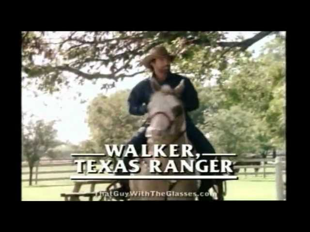 Walker Texas Rangers intro... WITH LYRICS?!!
