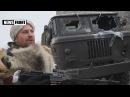 Разбитые позиции украинских оккупантов на северном укрепрайоне в Дебальцево