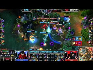 Highlights Results and Sounds of the Game LoL S4 Worlds 2014 Group A & B