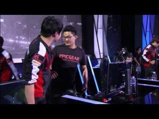 Incredible ending Ahq e Sports Club vs Edward Gaming LoL S4 Worlds 2014