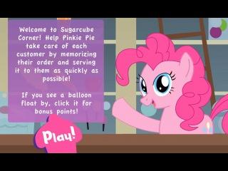 Игра Дружба Это Чудо, Пинки Пай Запоминалка (Little Poni Pinkie Pie)
