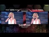 Выступления Полины Гагариной на Евровидении 2015 (2 выступления)