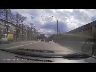 Регистратор Audi 200 spb 2