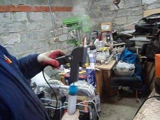 Ремонт колясок в Перми. Мастерская Аист. Плазменная сварка рам