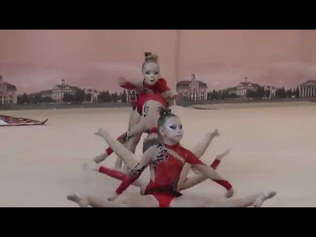 Команда ОДЕССА (БП) 03.10.2015 Художественная гимнастика. Групповые упражнения