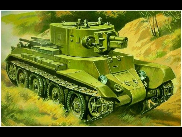 World of tanks(БТ-7А)