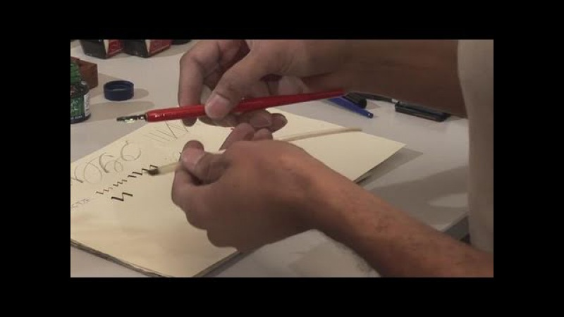 How To Apply Calligraphy Tools