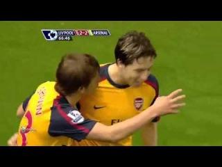 Arsenal - Liverpool Arshavin 4 Goals
